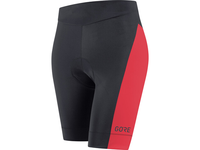 GORE WEAR C3 Short Tights Women black/hibiscus pink